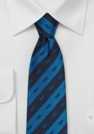 Phi Delta Theta Striped Silk Necktie