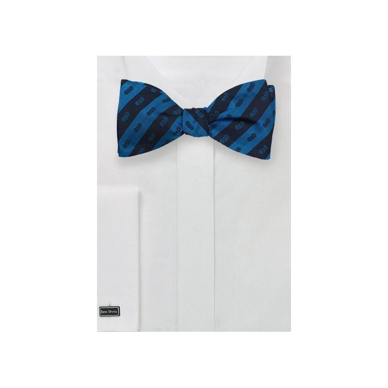 Self Tie Silk Bow Tie for Phi Delta Theta