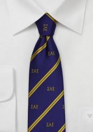 Sigma Alpha Epsilon Skinny Tie