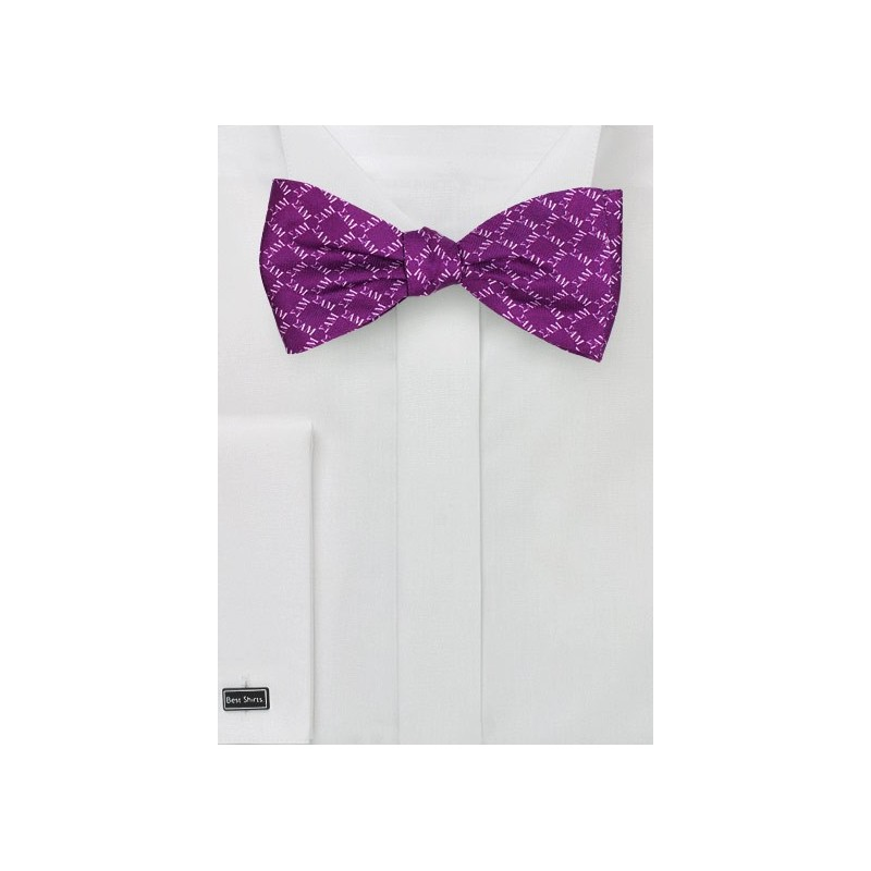 SAM Fraternity Silk Bow Tie