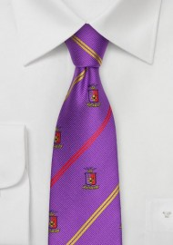 Purple Skinny Tie for Sigma Phi Epsilon