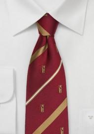 Theta Chi Silk Necktie