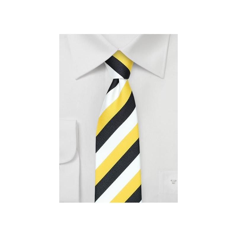 Skinny Striped Tie for Sigma Nu