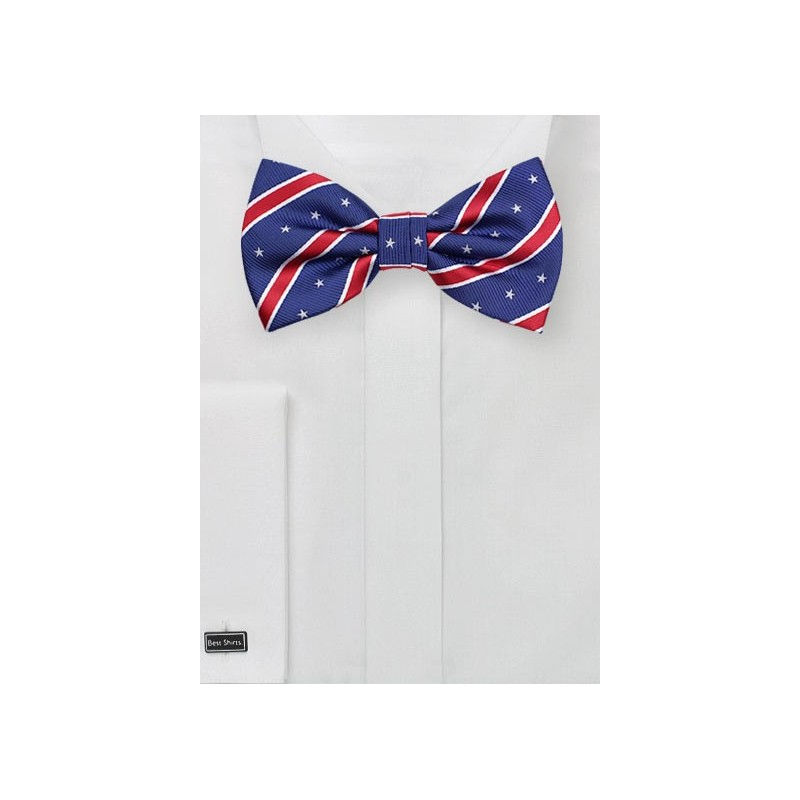 Trendy 4th of July Mens Bowtie