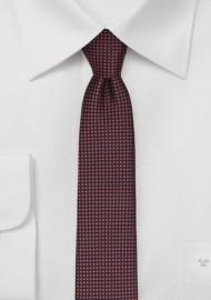 Copper Colored Skinny Tie