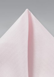 Textured Hanky in Blush Pink