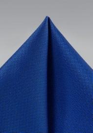 Bright Blue Textured Hanky