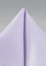 Pastel Lavender Textured Pocket Square