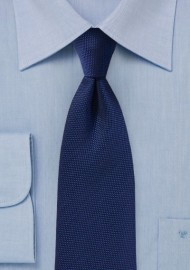 Menswear Navy Textured Tie