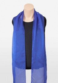 Chiffon Scarf in Horizon Blue