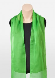 Chiffon Scarf in Kelly Green