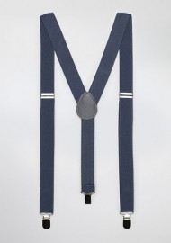 Charcoal Gray Suspenders