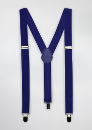 Suspenders in Horizon Blue