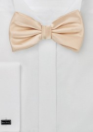 Champagne Kids Bow Tie