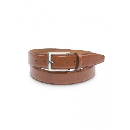 Classic Dress Leather Belt in Light Brown
