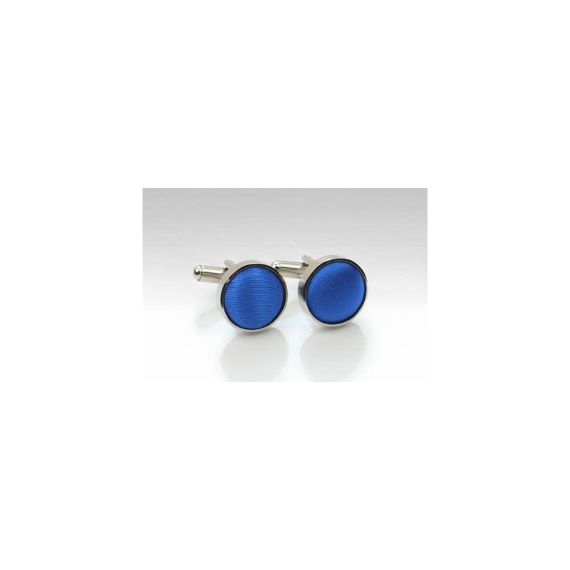 Cufflinks in Marine Blue