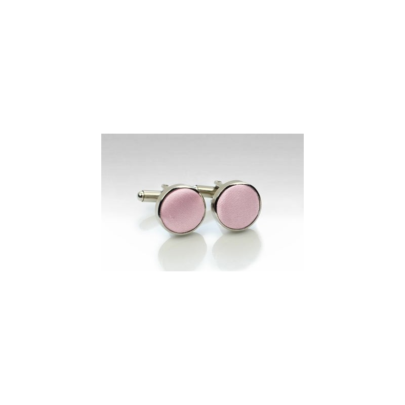 Soft Pink Mens Cufflinks