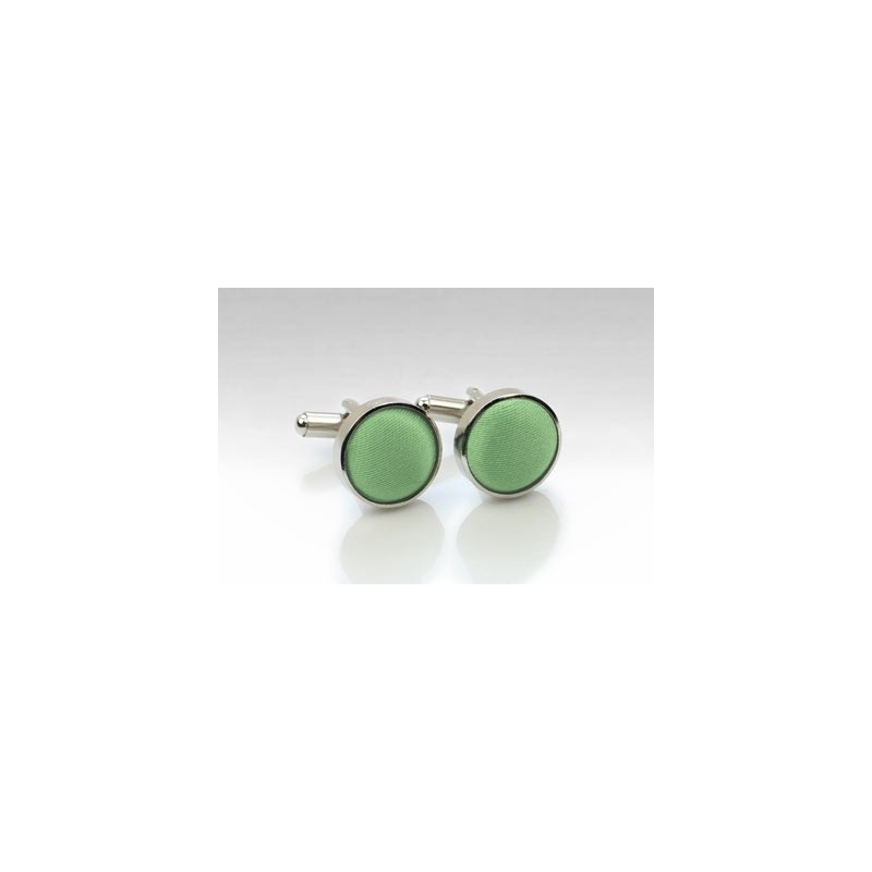 Sage Green Mens Cufflinks