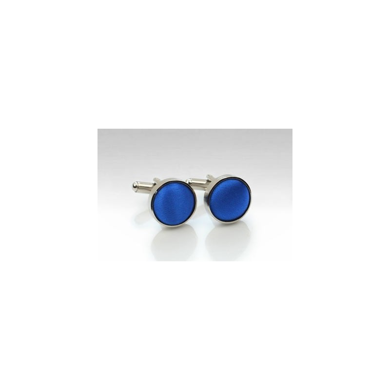 Azure Blue Men's Cufflinks