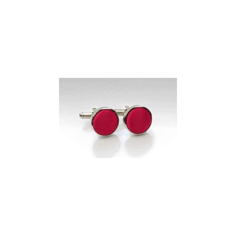 Cherry Red Cufflinks