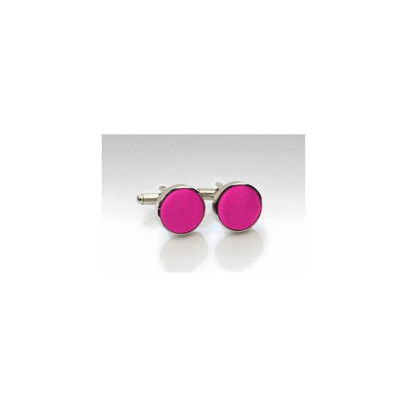 Magenta Pink Cufflinks
