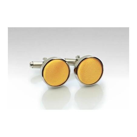 Lemon Yellow Cufflinks