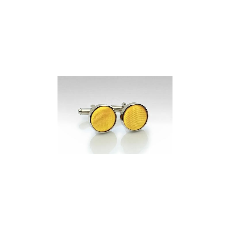 Cufflinks in Sun Yellow