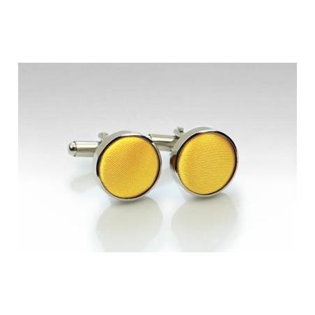 Cufflinks in Sun Yellow