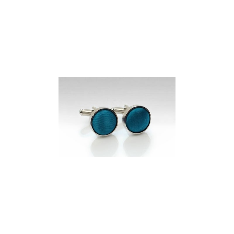 Teal Blue Mens Cufflinks