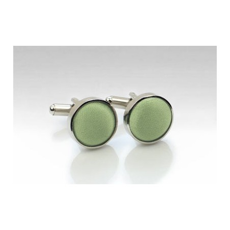 Cufflinks in Sage Green