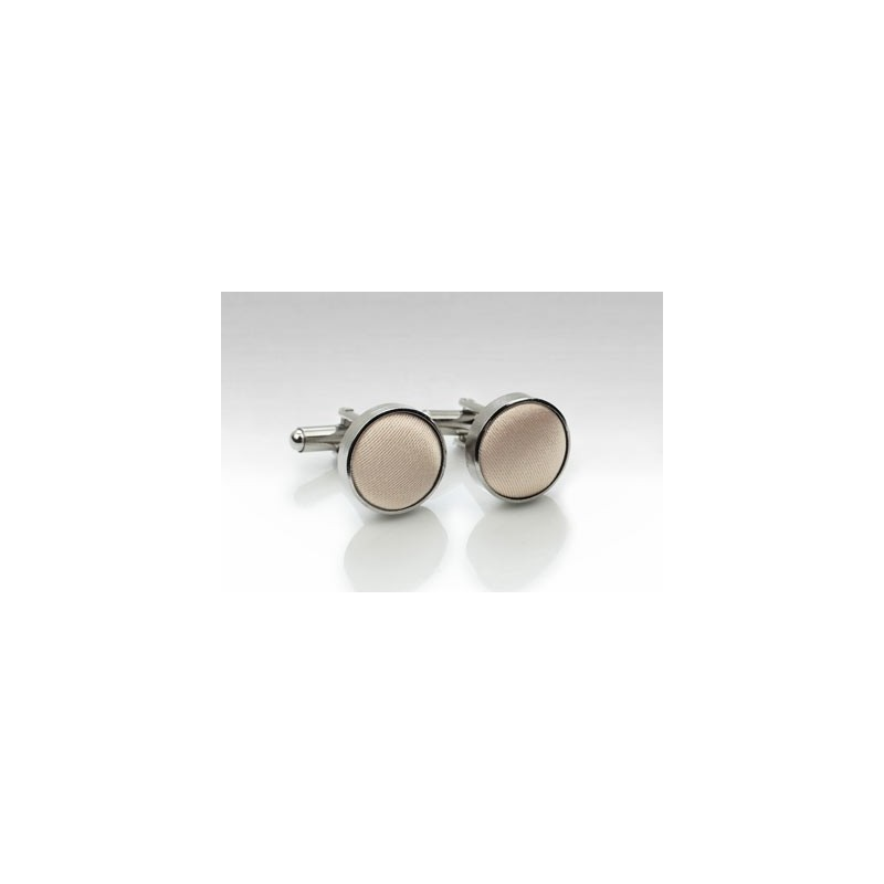 Cufflinks in Antique Blush