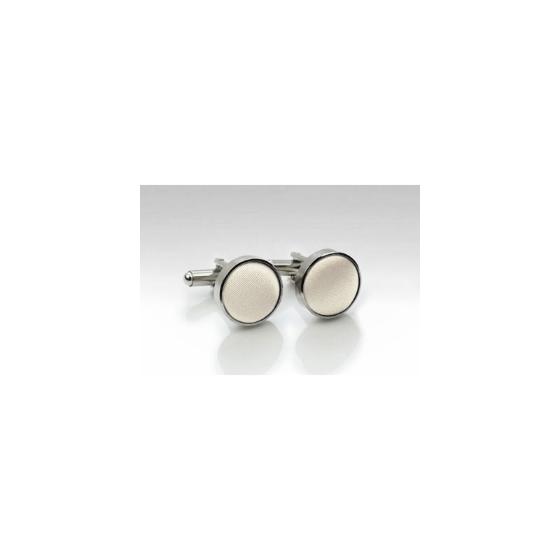 Cream Colored Cufflinks
