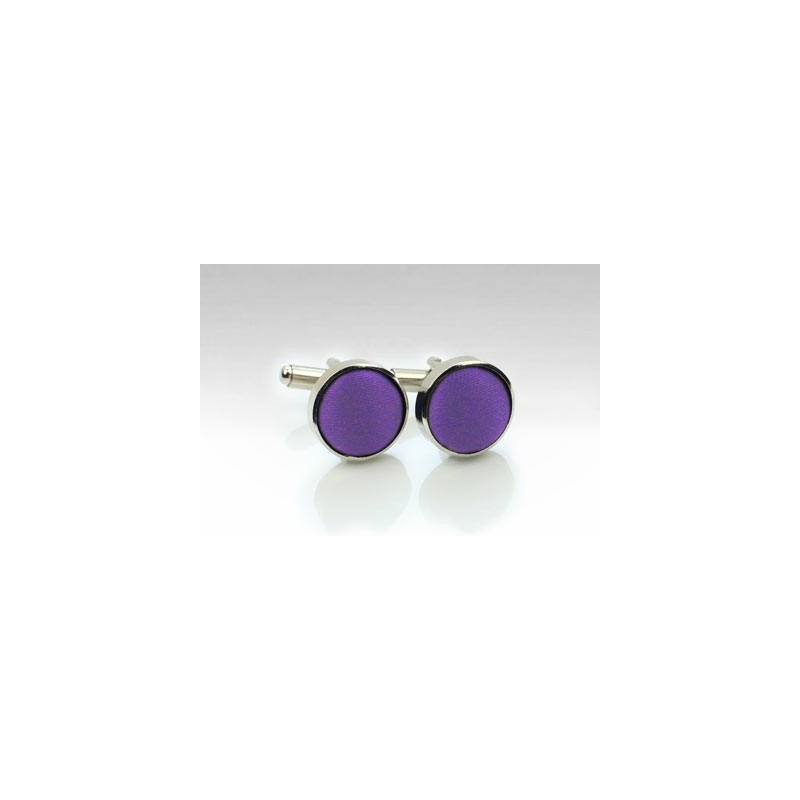 Cufflinks in Purple