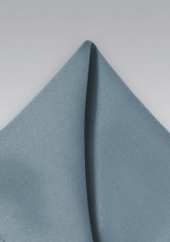 Dusty Blue Mens Pocket Square