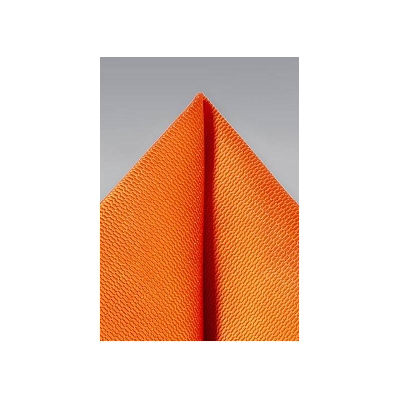 Bright Tangerine Suit Hanky