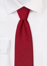 Slim Cut Sedona Red Mens Tie