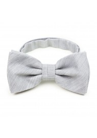 Mens Bow Tie in Mystic Gray