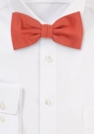 Autumn Bow Tie in Cinnamon