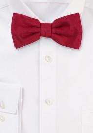 Brilliant Sedona Red Bow Tie