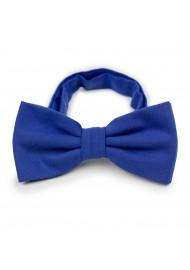 Woolen Bow Tie in Marine Blue