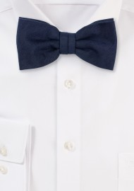 Nuanced Midnight Bow tie