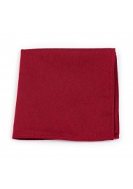 Sedona Red Pocket Square