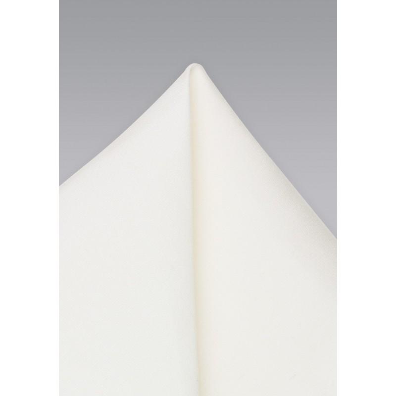 Linen Textured Blonde Pocket Square