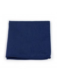 Classic Navy Hanky in Matte Finish