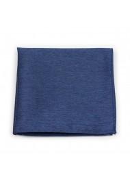 Suit Hanky in Slate Blue