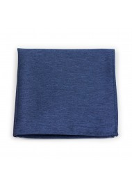 Suit Hanky in Slate Blue