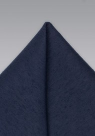 Midnight Pocket Square