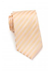 Elegant Kids Tie in Pastel-Peach