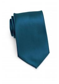 XL Mens Tie in Dark Teal-Blue