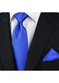 Horizon Blue Tie Styled